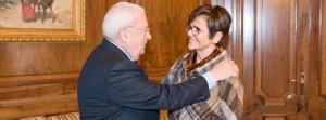 Rosa Peñalver presidenta de la Asamblea de la Región de Murcia con el presidente del Consejo de la Transparencia de la Región de Murcia